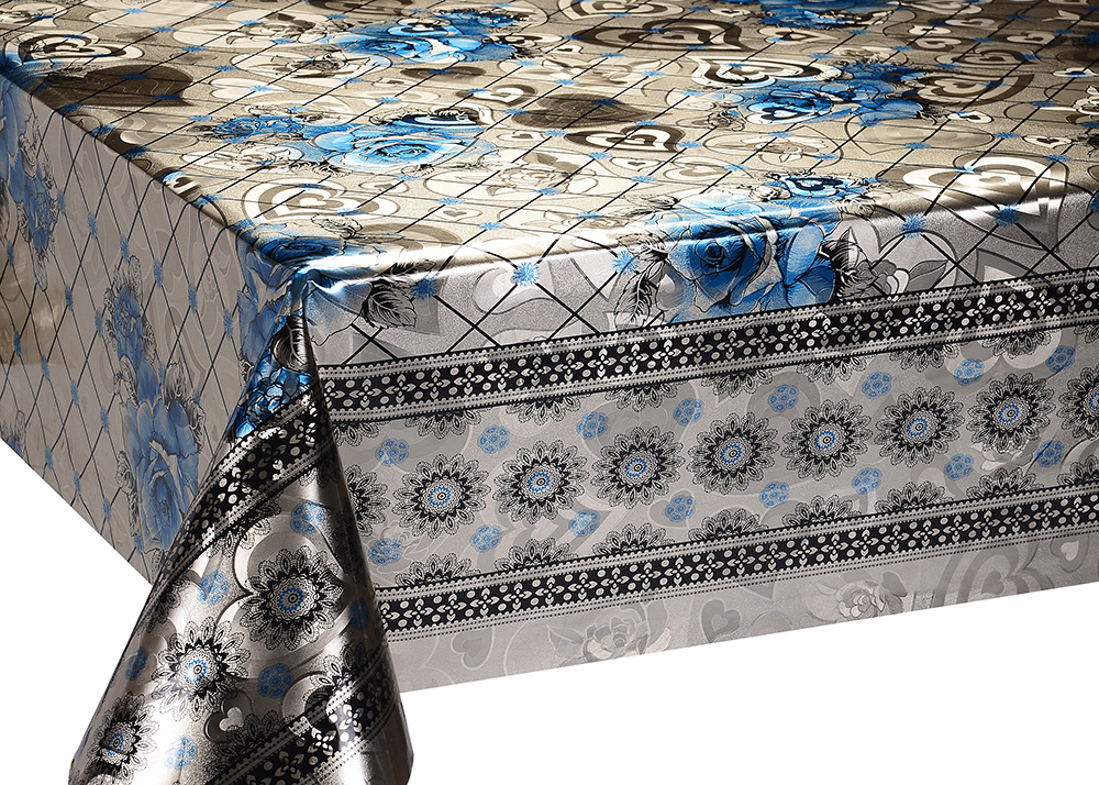 Golden Foil Double Face Tablecloth