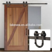 TSQ03 Plicated Classic Barn Door Hardware para puertas de granero corredizas, herrajes para puertas correderas