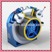 Motor de elevador sem engrenagens com binário de rotação baixa