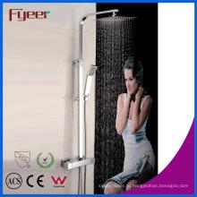 Fyeer Новый Контроль Температуры Ванная Комната Термостатический Дождевой Душ Установить