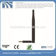 USB2.0 drahtloser Adapterdongle 150M wifi W7 / 8 Antenne DBI6 für Laptop macbook Computer