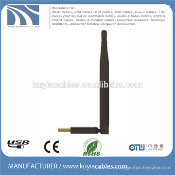 USB2.0 беспроводной адаптер ключ 150M wifi W7 / 8 антенна DBI6 для ноутбука MacBook компьютера