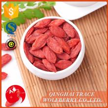 Free muestra hecha en China calidad superior seco goji bayas