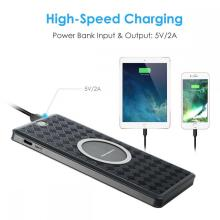 Ultra-thin Smartphone Battery Power Bank Wireless Charging