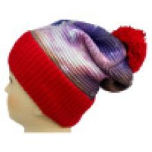 Трикотажная шапочка с сублимационной печатью NTD1668