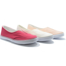 Elastic Pure Color Classical Canvas Basic Studeng Women Casual Shoes