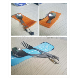 good price foldable cutlery spoon/ Titanium Folding Spoon made in China