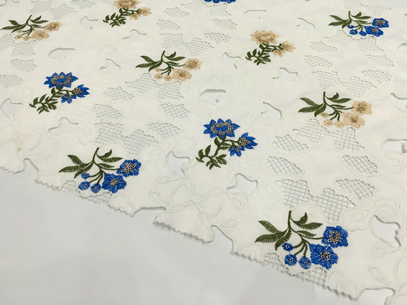 Laser Cut Embroidery Fabric
