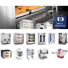 Profesional Comercial Industrial Electric / Gas Bread Bakery Equipment Hornear Horno Máquina Precios Venta China