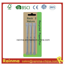 White Paper Recycled Ball Pen for Logo Pen