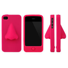 Nose Shape Funny Silicone Phone Case for Mobile Phone