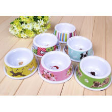 (BC-PE1006) High Quality Reusable Melamine Pet Basin