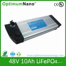 Bloco de Bateria de Lítio E-Bike Aliminum 48V 10ah