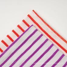 Y/D Cotton Poly 1*1 Rib Fabric
