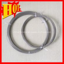Gr3 Titanium Polised Wire en forma de bobina