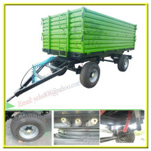 Agriculture Implement 8t Tractor Tipping Trailer