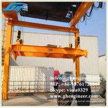 Espalhador de contêiner elétrico para elevação de contêiner de 20 e 40 pés