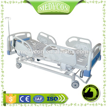 Electric clinical iron bed with five functions