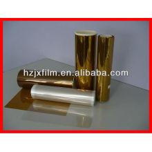 Película de poliéster de oro
