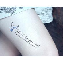 9cmx21cm Tattoo Ink Custom Floral Temporary Body Tattoo Sticker