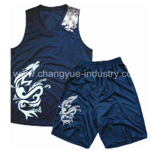 Reversible basketball jersey with mens