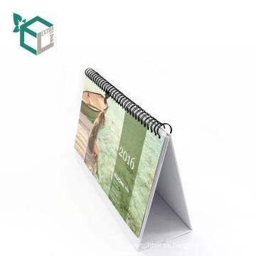 Calendario popular modificado para requisitos particulares de la impresión del tablero gris Calendario popular vendedor caliente