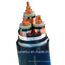 Henan Jinshui Group Mv Electric Силовой кабель с 3 жилами из сшитого XLPE