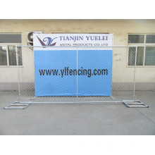 Powder Coated Movable Canada Temporary Fence Panel, Temporary Fence Panels