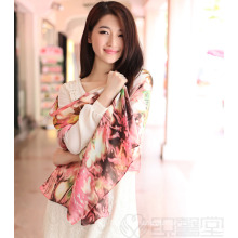 Silk Digital Printed Shawl (12-BR110303-31)