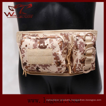 Military Tactical Nylon Double Pouch Waist Bag for Sport Bag
