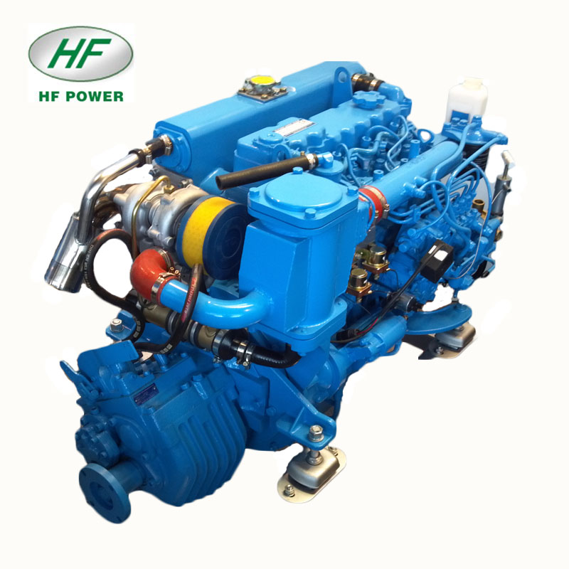HF-498T air didinginkan mesin perahu 100 hp