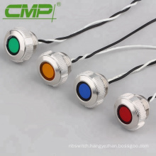 22mm High Head Indicator Lamp With Tri-color