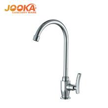 Design moderno única alavanca torneiras de cozinha de água fria