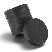 D20x5 Hard Sintered Round Ferrite Magnet