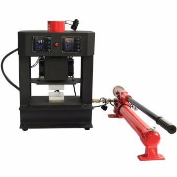 HP3809-R Dual Heating Plate 20 Ton Hydraulic Rosin Press