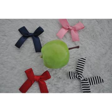 Arco de cinta de satén para accesorios de ropa interior y embalaje de regalo
