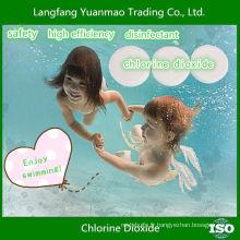 Désinfectant de piscine de haute efficacité et de haute qualité avec tablette de dioxyde de chlore