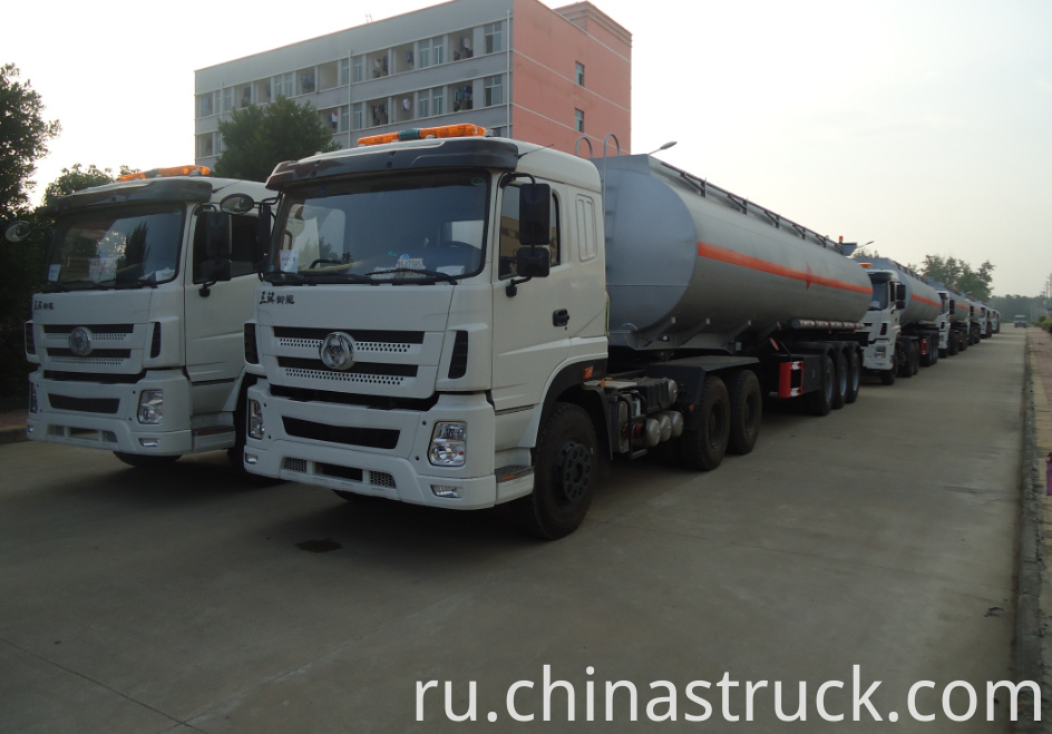 Export to Afirca Ethanol tank semi-trailer