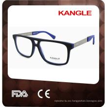 Gafas de acetato óptico en forma de ojo agradable