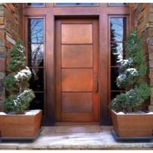 Woodwin Super Quality Simple Style Single Casement Porte en cuivre