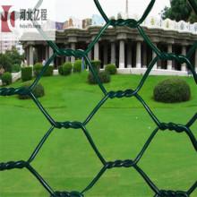 Treillis métallique hexagonal galvanisé en fer