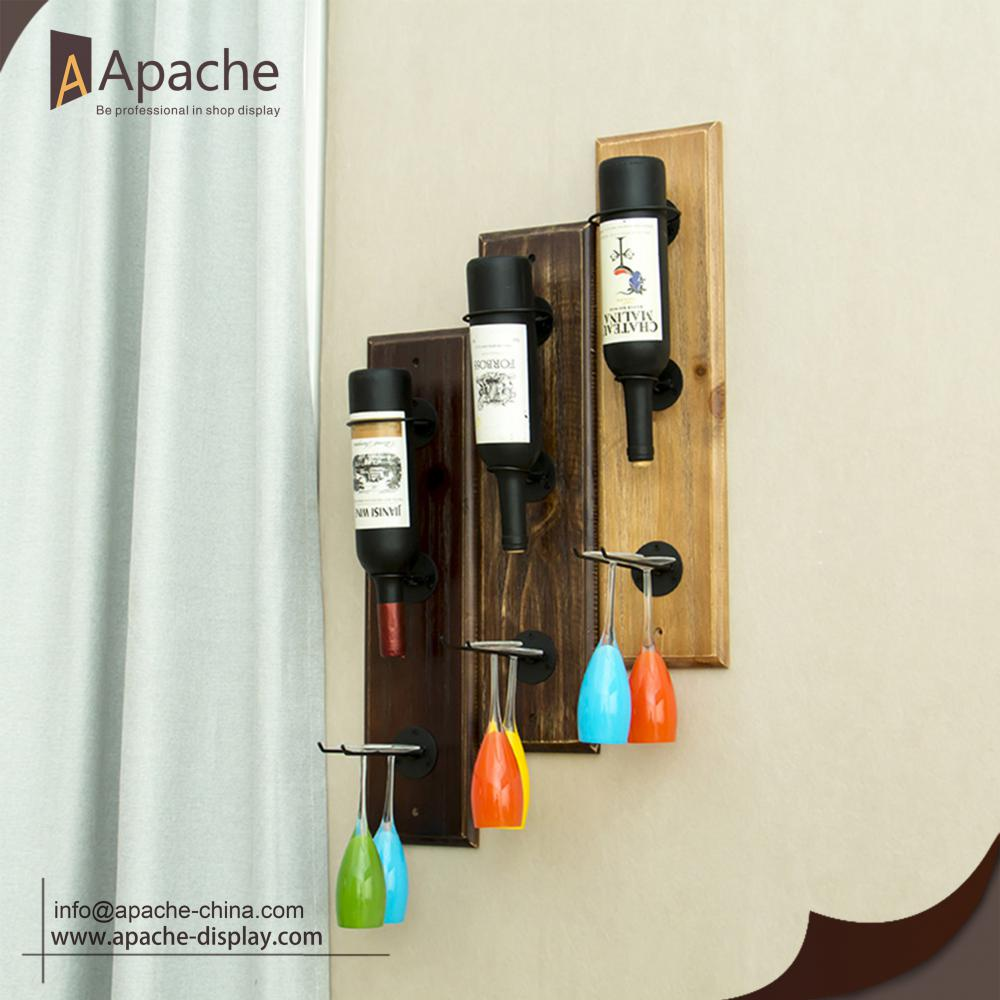 Wall-mounted Wine And Wine-cup Rack