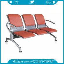 AG-TWC003 Three seats public place with mattress hospital chair