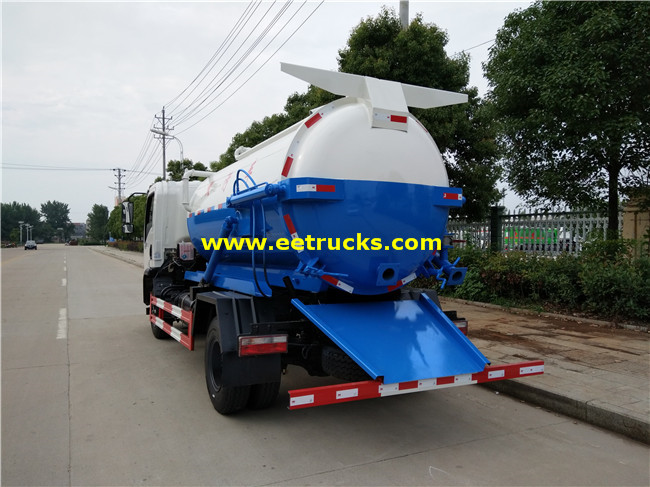 3 Ton Fecal Suction Trucks