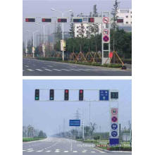 steel traffic signs pole