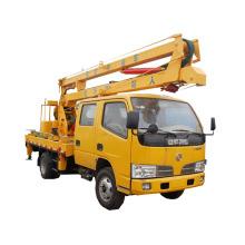 Meilleure stabilité du camion de plate-forme de travail aérien de Dongfeng