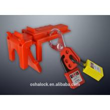 Verrouillage de la vanne à bille réglable BD-F01, verrouillage de la vanne de sécurité Brady, adapté pour 13mm à 64mm