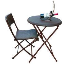 Круглый стол (серия из ротанга)