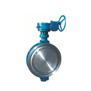 Double Wafer Offset Butterfly Valve