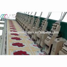 16 cabeças Mixed Chenille e plana máquina do bordado